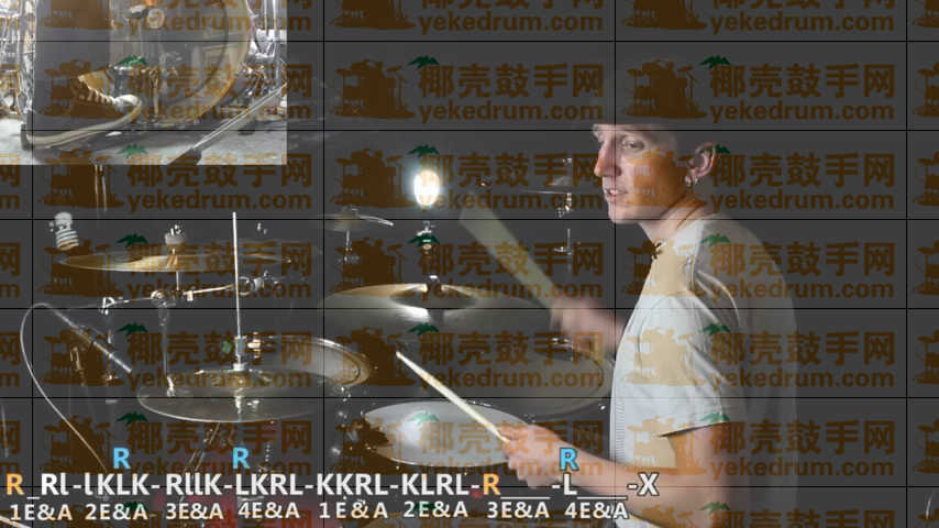 Drum Fills- JoChanWoo Gospel Chop Style Fill - How To Play D