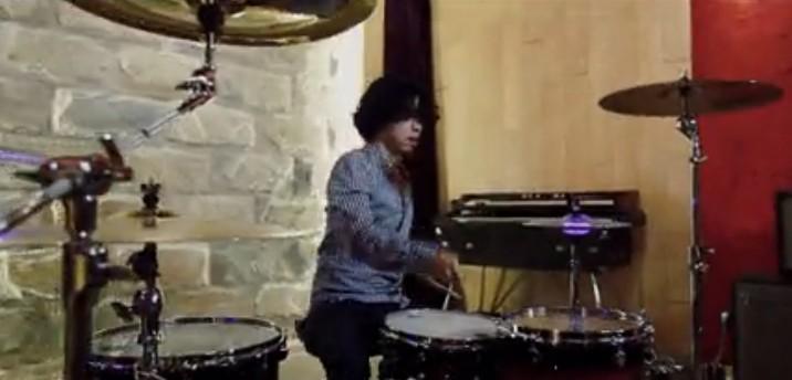 鼓手刘忠演奏ERROR Drum Cover视频