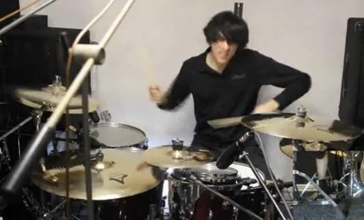 鼓手 Boris LeGal 演示歌曲 Mbius Part 2演奏视频