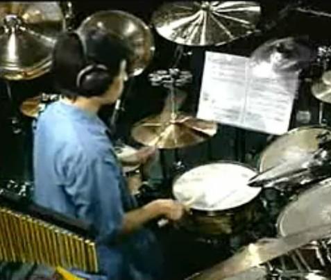 架子鼓后十六分音符综合练习