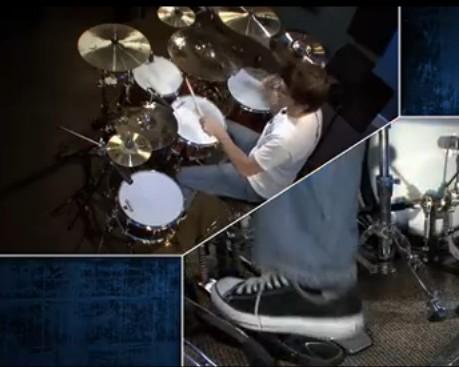 鼓手Cobus常用的架子鼓节奏教学